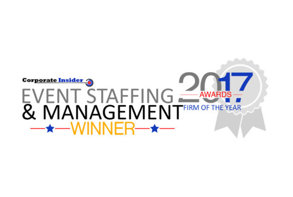 Event Staffing & Management Firm of the Year!