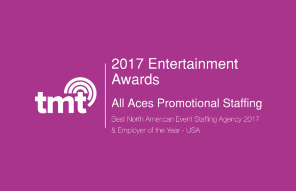 Best North American Event Staffing Agency 2017 & Employer of the Year – USA